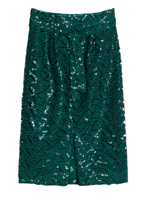 &-Other-Stories—Green-Midi-Skirt—95-euro