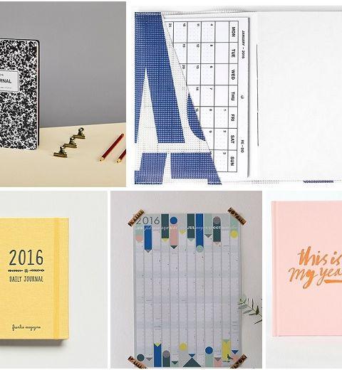 10 agendas sympas pour bien commencer l'année