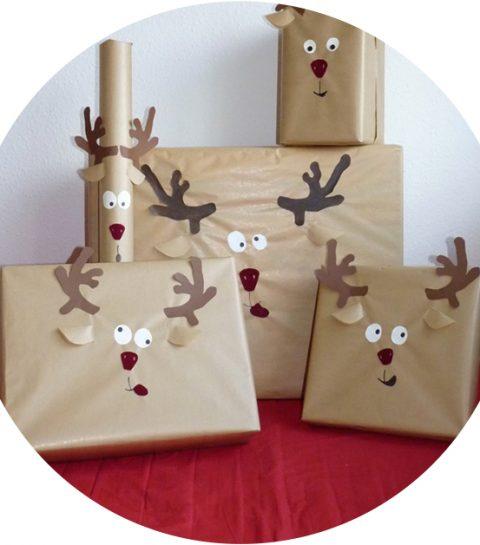 Noël : 8 DIY pour emballer vos cadeaux