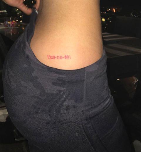 Kylie Jenner dévoile son nouveau tattoo
