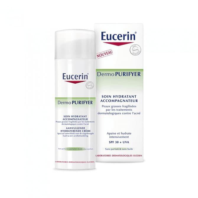 soin peau grasse eucerin