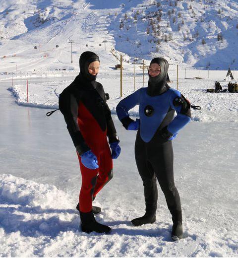 On a testé la plongée sous-glace