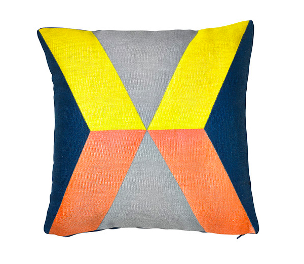 8. IKEA , Housse de coussin, rose, jaune