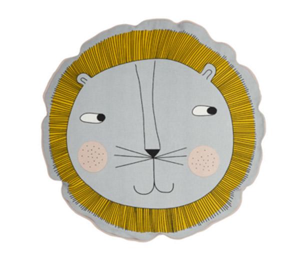 Coussin-Lion