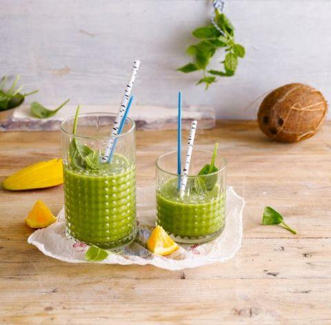 Recette du Green Coconut Smoothie