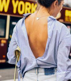 La chemise dos nu