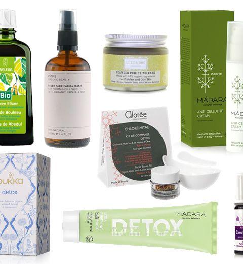 15 produits détox bio pour bien commencer l'année