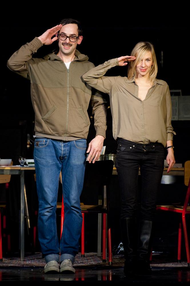 Philippe Koeune et Valéria Siniouchkina