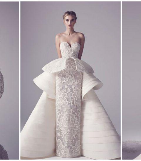Une mariée Haute Couture