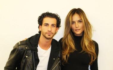 Ryan Pearl et le modèle Natalia Borges