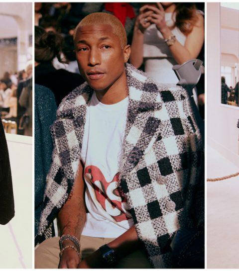Que portaient les stars au défilé Chanel?