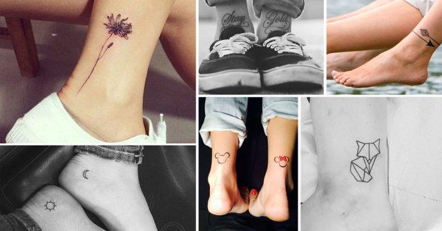 Tatouages Pieds Notre Selection De 30 Motifs Canons Elle Be