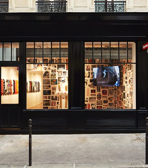 Supreme ouvre un magasin à Paris