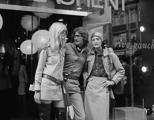 Betty Catroux, Yves Saint Laurent et Loulou de la Falaise