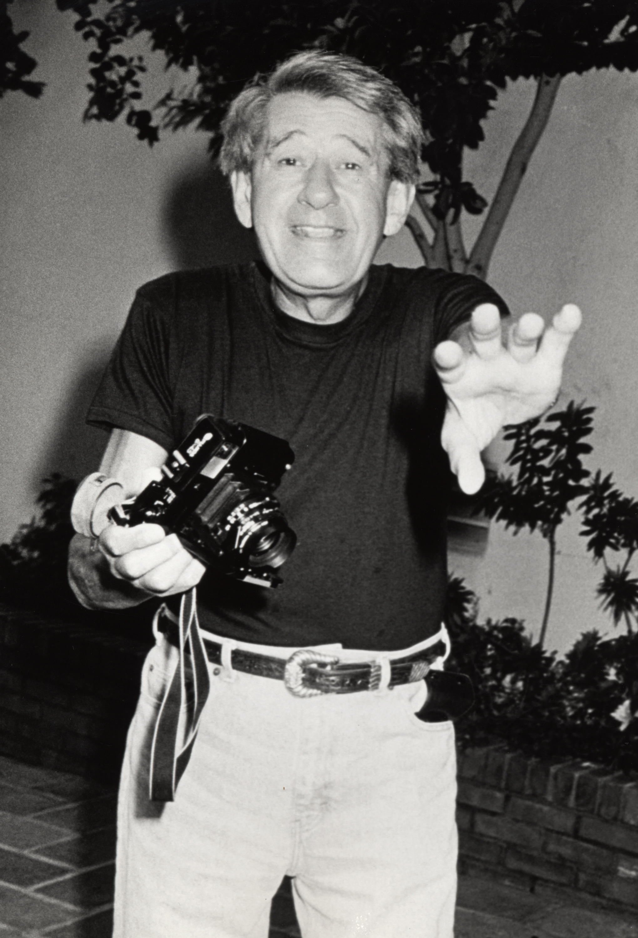 Helmut Newton (Photo by Ron Galella/WireImage)