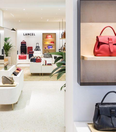 La première boutique Lancel à Bruxelles