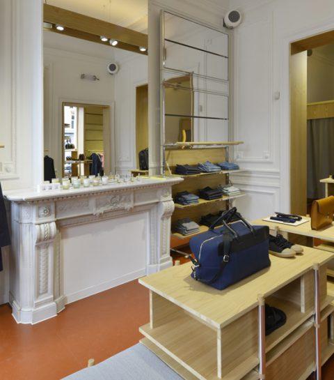 A.P.C. ouvre une boutique à Dansaert