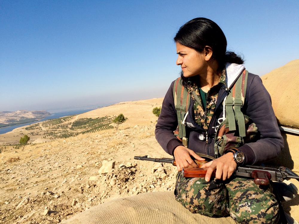 Viyan, guerrière kurde