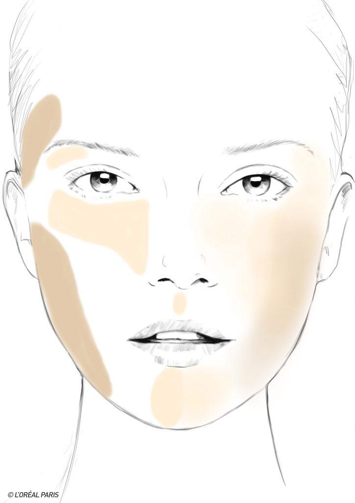 contouring o placer les traits selon votre forme de visage page 4 sur 6. Black Bedroom Furniture Sets. Home Design Ideas