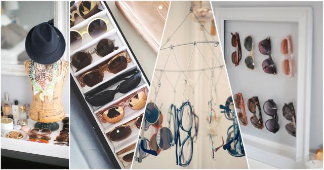 comment ranger ses lunettes de soleil. Black Bedroom Furniture Sets. Home Design Ideas