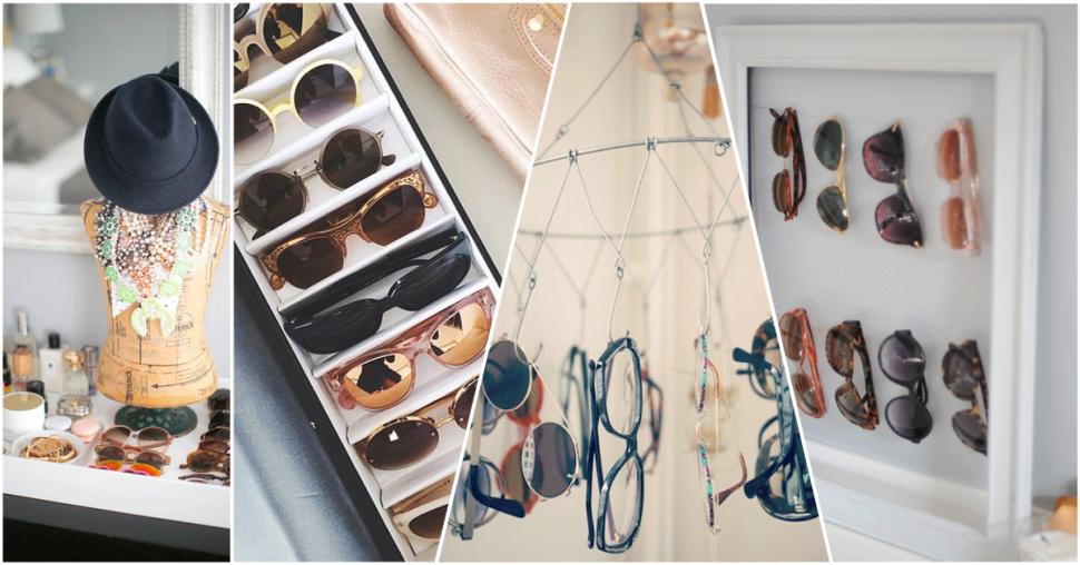 Comment ranger ses lunettes de soleil - Comment ranger ses placards ...