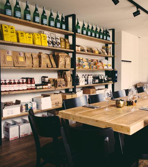 Cocina restaurant italien Bruxelles