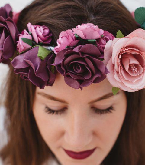Le DIY du mercredi: la couronne de fleurs pour la mariée