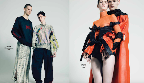 The Future Is Now - A selection of some of the Fashion Department's most promising BA students by Pierre Debusschere