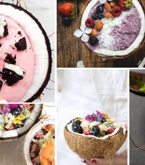 Coconut bowl: la tendance qui donne faim