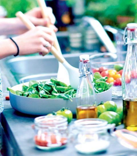 5 salades colorées pour l'été