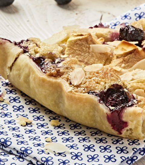 Recette: la tarte aux pommes et myrtilles sans gluten ni lactose
