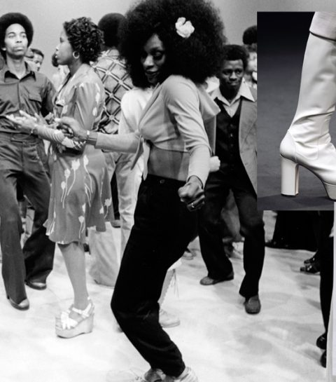 Les chaussures «Soul Train»