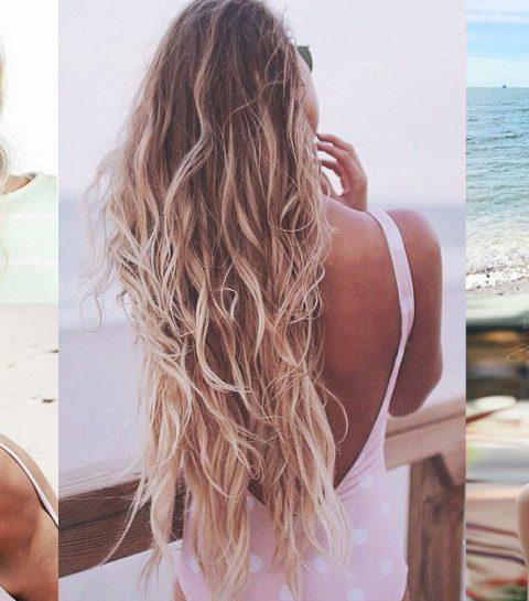 10 coiffures stylées pour profiter de la plage