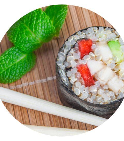 Recette: le healthy maki au quinoa
