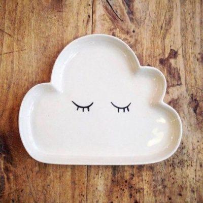 Assiette nuage