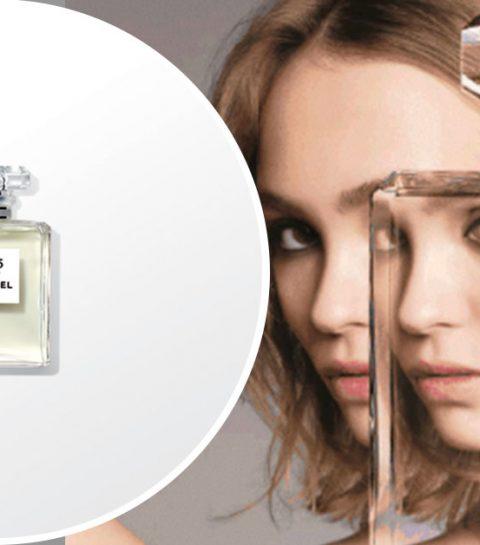 Lily-Rose Depp égérie de L'Eau N°5 de Chanel
