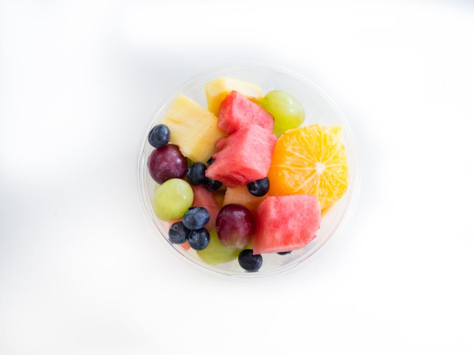 photo d'une salade de fruits