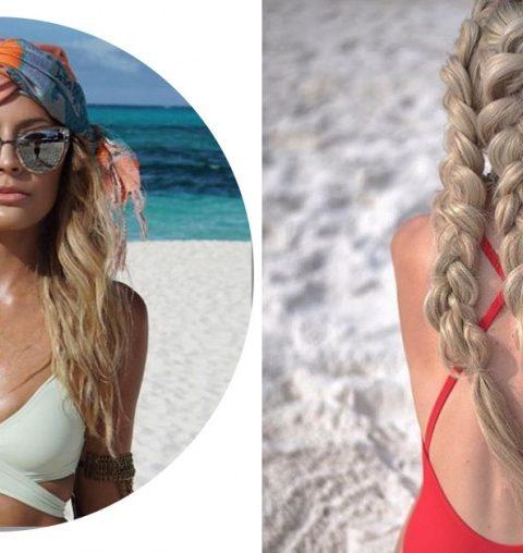 5 coiffures pratiques pour aller nager