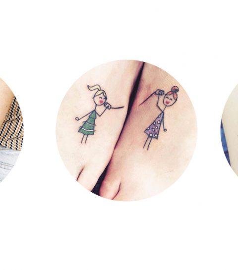 20 tatouages à partager avec sa soeur