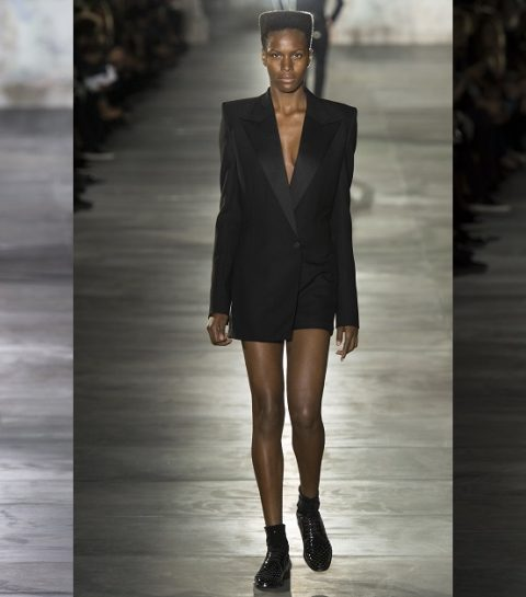 Le nouveau Saint Laurent par Anthony Vaccarello
