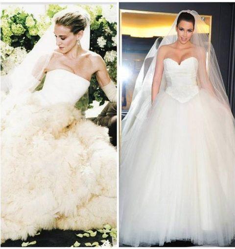 Les 10 plus belles robes de mariées signées Vera Wang
