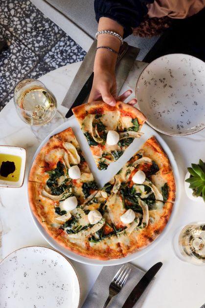 Photo d'une pizza