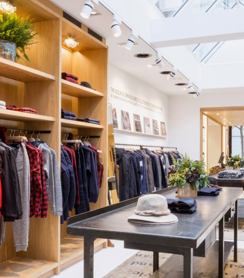 Woolrich ouvre son premier flagship store