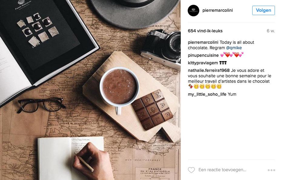 chocolat chaud Bruxelles Pierre Marcolini