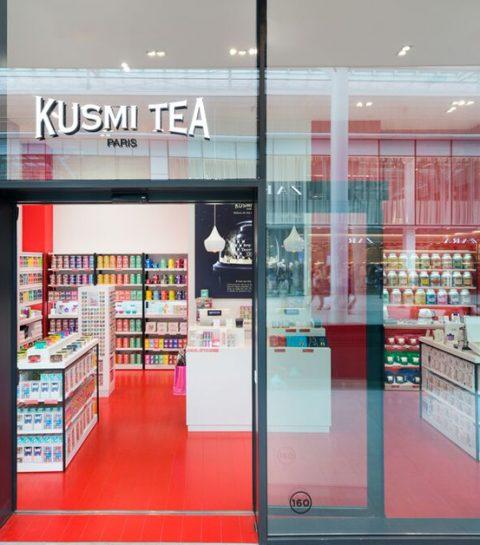 Kusmi Tea ouvre sa toute première boutique en Belgique