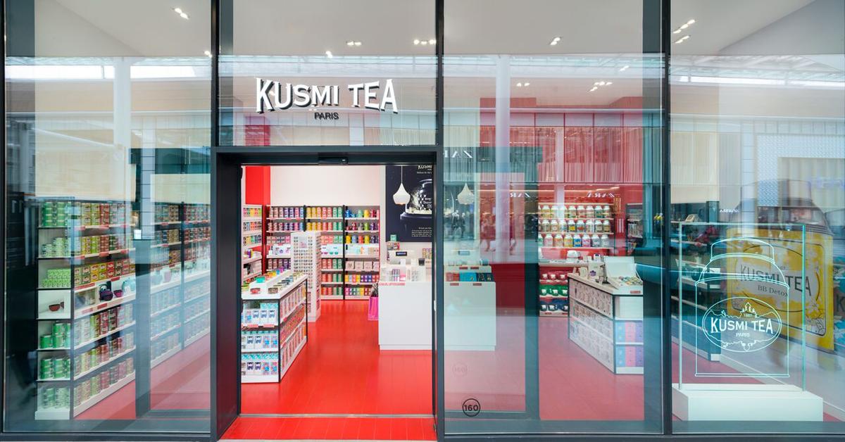 Kusmi Tea ouvre sa toute première boutique en Belgique - ELLE.be.   148cfde3905d