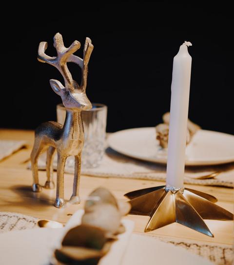 10 décorations de table express pour Noël
