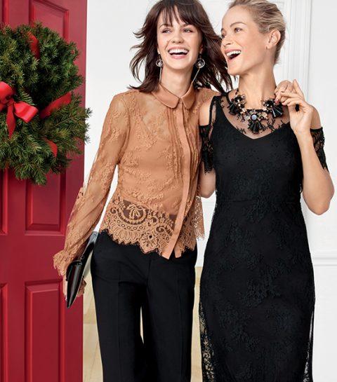 Stylée pour les fêtes: 5 looks Marks & Spencer