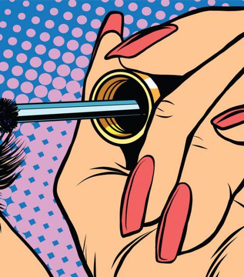 Appliquer son mascara: l'astuce ultime pour des cils vraiment courbés