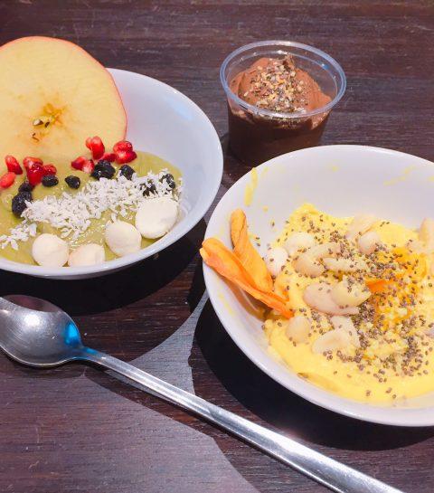 Crème d'amandes et mangue, citron, graines de chia : la recette express